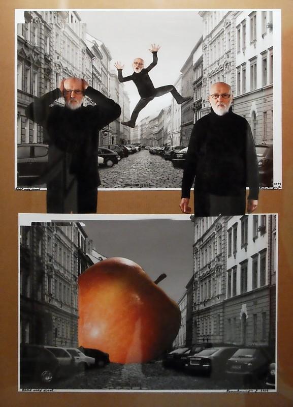 8. Jan Švankmajer: fotokoláž z cyklu Přežít svůj život