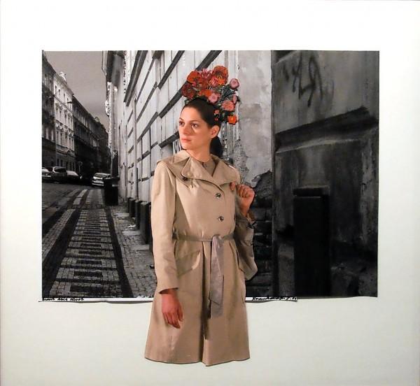 1. Jan Švankmajer: fotokoláž z cyklu Přežít svůj život