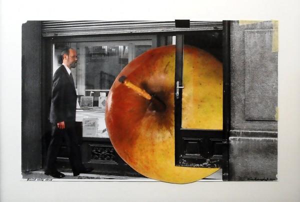 6. Jan Švankmajer: fotokoláž z cyklu Přežít svůj život