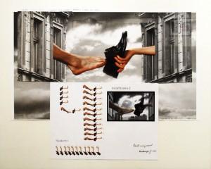 fotokoláž, 1/1, 82 x 67 cm