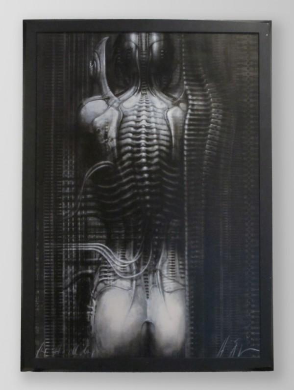 H. R. Giger - N. Y. City II, 50 x 70 cm