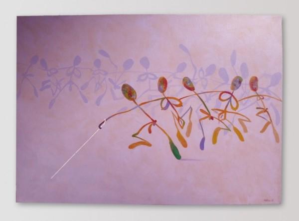 Miroslav Pošvic - Žádná změna, akryl/plátno, 50 x 70 cm, 2011