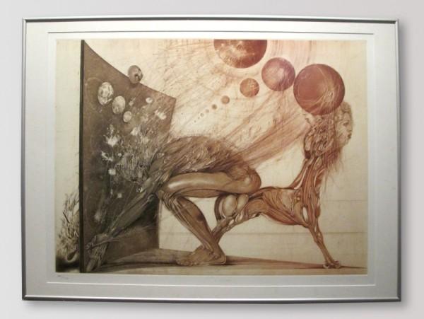Karel Demel - Rozpory, 50 x 70 cm, 2001