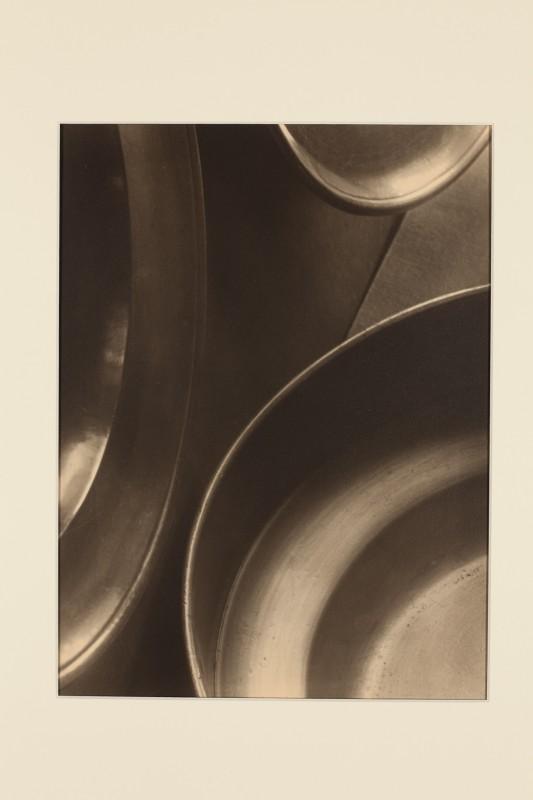 Jaromír Funke: Zátiší (talíře), 1925, pozdější zvětšenina 2005