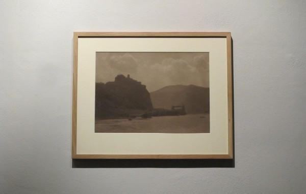 Jan Lauschmann: Hrad Střekov, 1930, černobílá fotografie