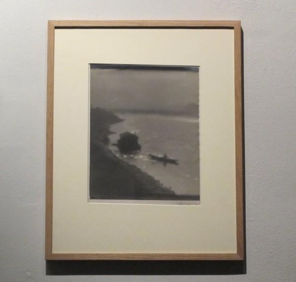Jan Lauschmann: Loď na Vltavě, 1929, černobílá fotografie