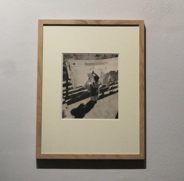 Jan Lauschmann: Prádlo, černobílá fotografie