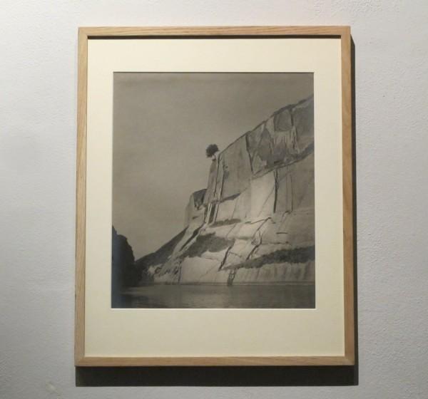 Jan Lauschmann: Skalní útes, 1932, černobílá fotografie