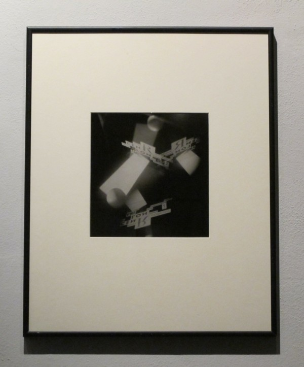 Jaroslav Rössler: Bez názvu (nefigurativní modelace světelného prostoru), černobílá fotografie