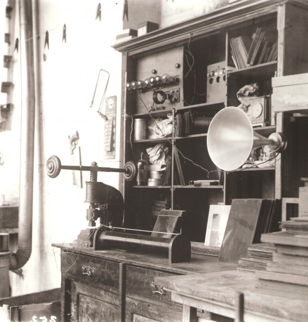 Jaroslav Rössler: Drtikolův atelier ve Vodičkově ulici, 1925, pozdější zvětšenina 2005