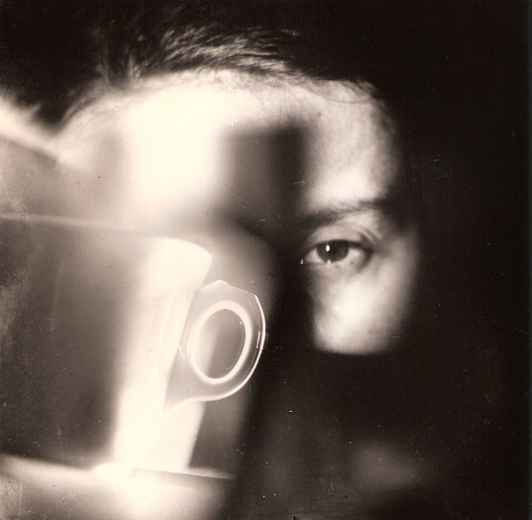 Jaroslav Rössler: G Fisherová- portrét (oko se šálkem), 1923-1990