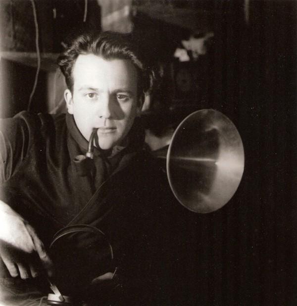 Jaroslav Rössler: Autoportrét v Drtikolově ateliéru, 1924, pozdější zvětšenina 2005