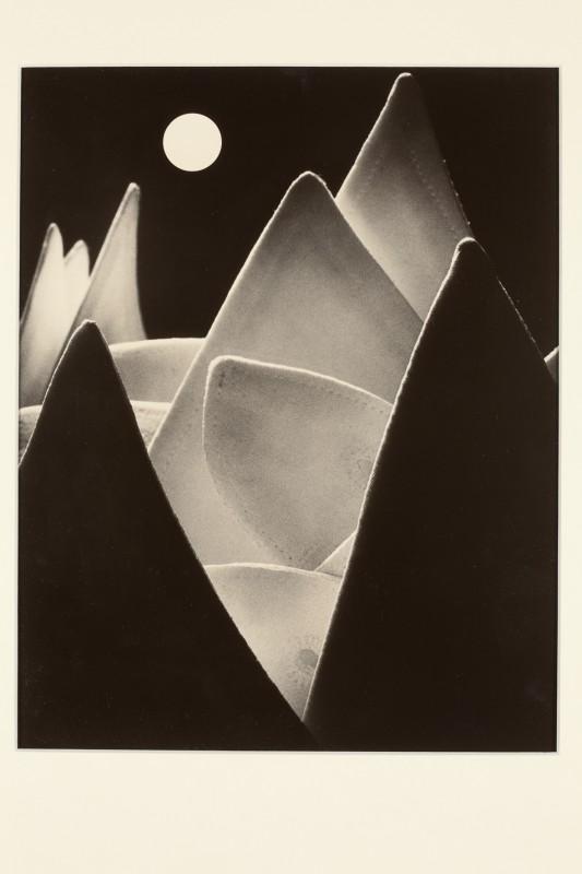 Eugen Wiškovský: Měsíční krajina, 1929, pozdější zvětšenina 1992