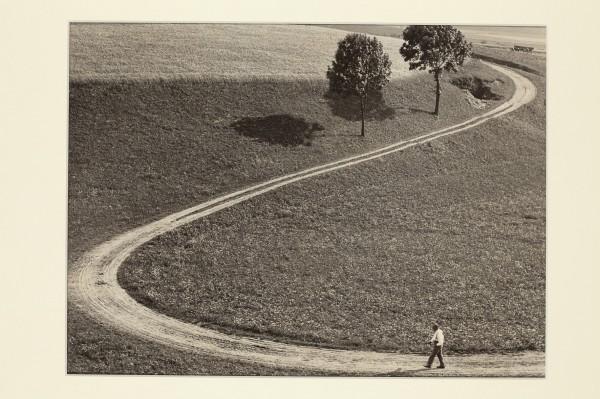 Eugen Wiškovský: Cesta, 1933, pozdější zvětšenina 1992
