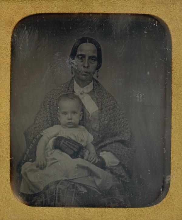 Portrét ženy s dítětem