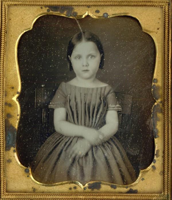 Portrét holčičky