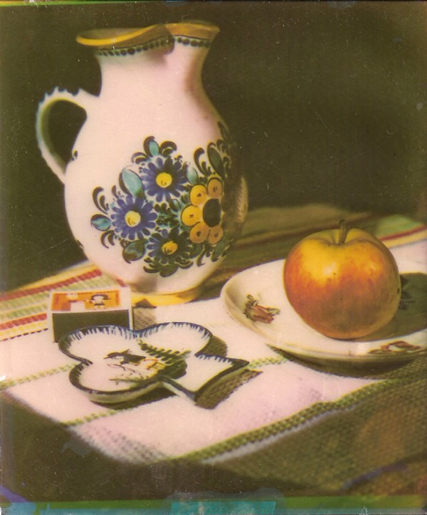Jaroslav Rössler: Malovaný džbánek, barva - systém carbo