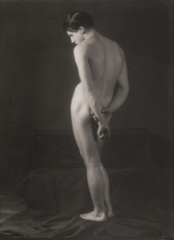 Jaroslav Rössler: Stojící akt (J. Rössler), 1922, pozdější zvětšenina 2005