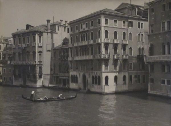 Jan Lauschmann - Benátky I, 1935, černobílá fotografie