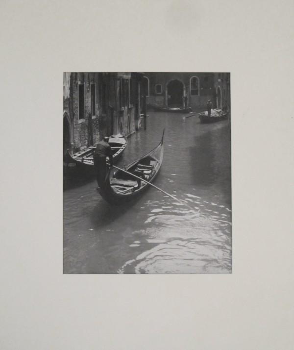 Jan Lauschmann - Benátky II, 1935, černobílá fotografie
