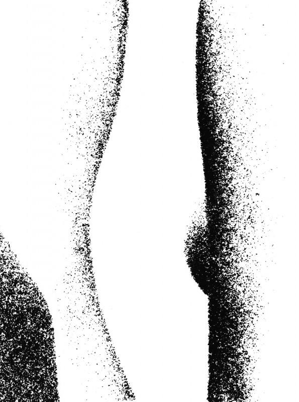 Pavel Mára: Tělo III, fotografie na bromostříbrném papíru, 1969, neprodejné