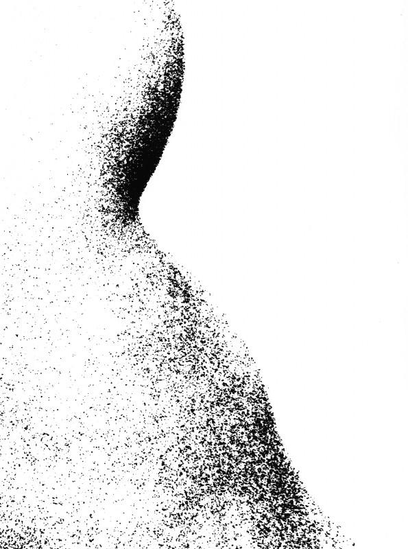 Pavel Mára: Tělo IV, fotografie na bromostříbrném papíru, 1969, neprodejné