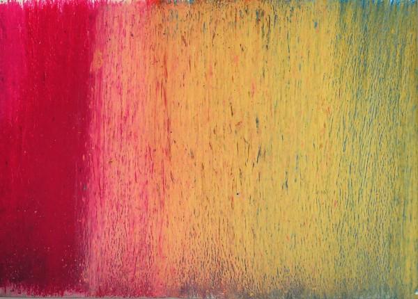 Brokovic Curt-Raoul: Olejová křída na papíře, 2009, 50x70 cm