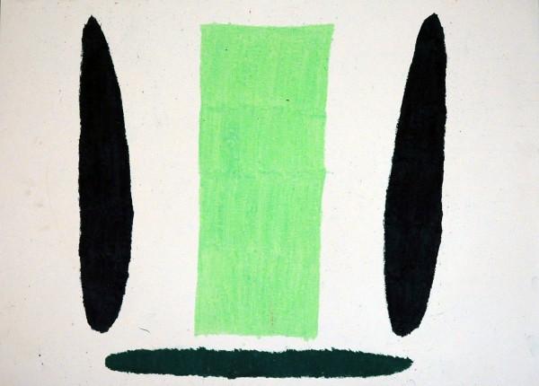 Breit Monika: Olejová křída na papíře, 2005, 50x70 cm