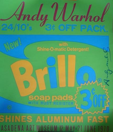 Andy Warhol: Brillo, serigrafie, 76x66 cm