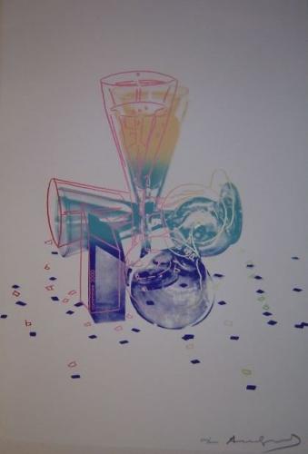 Andy Warhol: Committee 2000, serigrafie, signováno a číslováno 640/2000 PD, vzadu razítko Andy Warhol 1982 (slepotiskové razítko tiskaře), tisk Rupert Jasen Smith, New York 1982, reprodukováno v soupisu