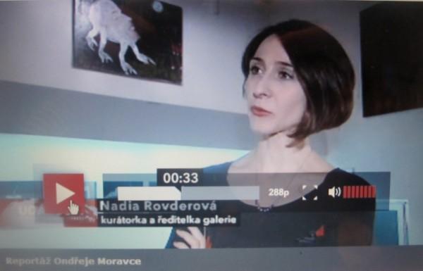 Reportáž ČT z výstavy Víly, skřítkové a trpaslíci