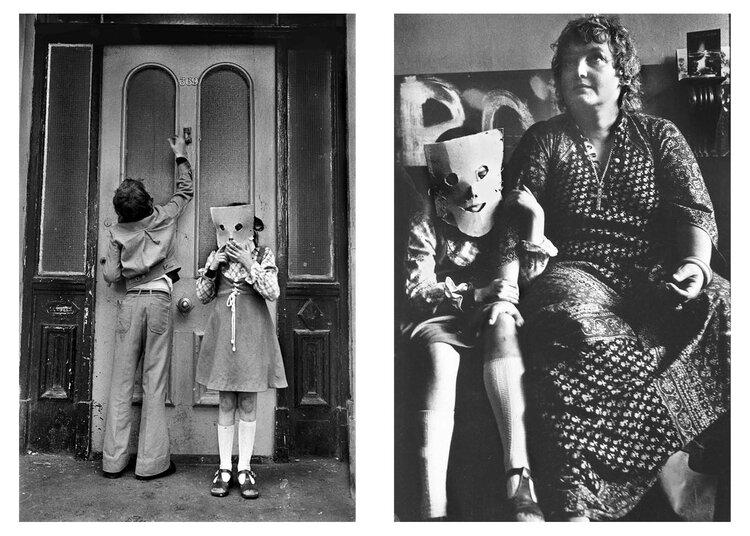 fotografie: Markéta Luskačová, z cyklu: Azylový dům Chiswick Women's Aid